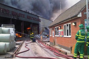 Μεγάλη πυρκαγιά στο ανατολικό Λονδίνο