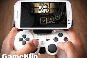 O GameKlip συνδέει smartphones με χειριστήριο PlayStation