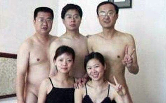 Pictures China Scandal Communist Party Swingers Sex Orgy
