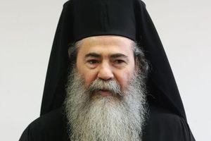 Στη Σύμη ο πατριάρχης Ιεροσολύμων
