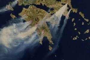 Ιστοσελίδα παρακολούθησης δασικών πυρκαγιών από το Αστεροσκοπείο