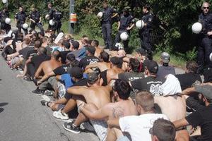 Δεν κουνάνε... ρούπι οι οπαδοί του ΠΑΟΚ στη Βιέννη