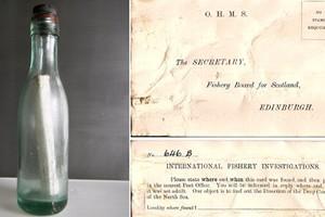 Βρέθηκε το παλαιότερο μήνυμα σε μπουκάλι
