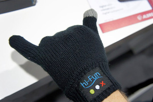 Bluetooth γάντια-ακουστικά ετοιμάζει η Hi-Fun
