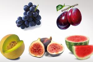 Υγιεινά φρούτα της εποχής