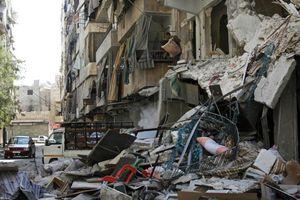 Η συριακή αεροπορία έκανε χρήση βομβών διασποράς