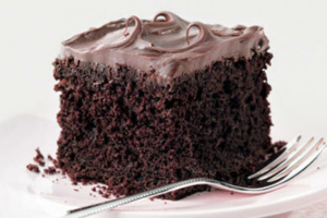 Κέικ με επικάλυψη σοκολάτας