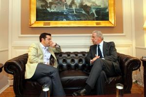 Με τον Δ. Αβραμόπουλο συναντήθηκε ο Α. Τσίπρας