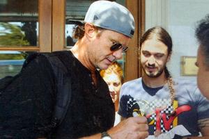 Η βόλτα των Red Hot Chili Peppers στην Αθήνα