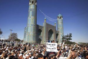 Τουλάχιστον οκτώ Αφγανοί νεκροί σε βίαιη διαδήλωση