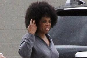 Με άφρο λουκ η  Oprah Winfrey