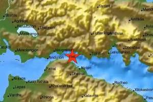 Σεισμός 4 Ρίχτερ κοντά στο Αίγιο