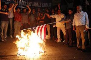 Διαδήλωση στην Κωνσταντινούπολη για την προσβολή του Μωάμεθ
