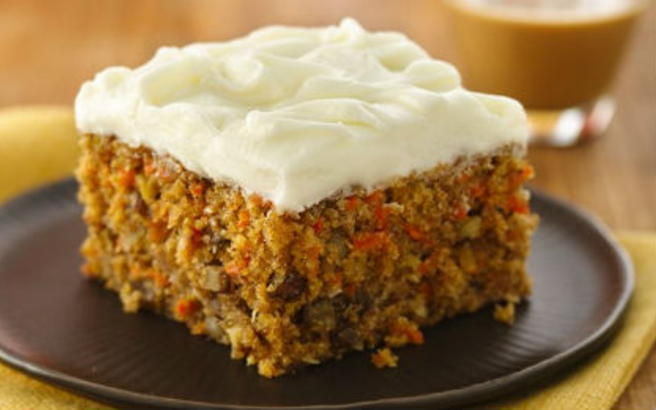 Carrot And Courgette Vegan Cake