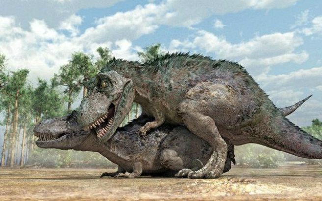 Πώς έκαναν σεξ οι δεινόσαυροι