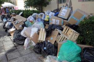 Μονάδα προσωρινής διαχείρισης απορριμμάτων στην Τρίπολη