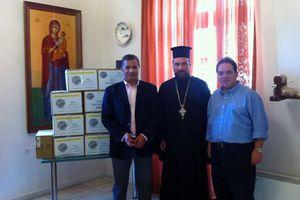 Η «Αποστολή» δίπλα σε ευπαθείς ομάδες της Σύρου
