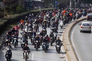 Βγαίνουν στο δρόμο οι μοτοσικλετιστές