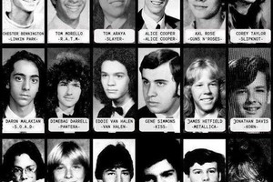 Οι ήρωες του ροκ σε εφηβική ηλικία