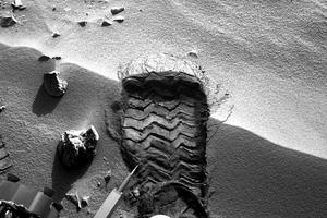 Το πρώτο αποτύπωμα του Curiosity στον Άρη