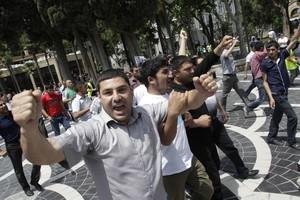 Συλλήψεις και τραυματισμοί σε διαδήλωση στο Αζερμπαϊτζάν