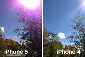 Πρόβλημα με τις μωβ λάμψεις στο iPhone 5