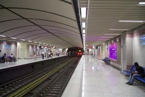 Άνοιξε ο σταθμός του μετρό «Αγία Μαρίνα»