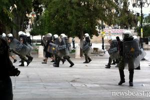 Τριάντα προσαγωγές στο κέντρο της Αθήνας