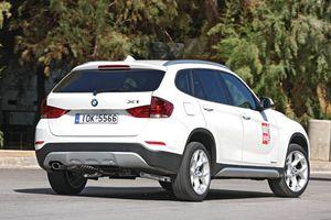 Η ανανεωμένη πετρελαιοκίνητη BMW Χ1