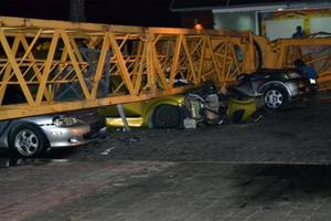 Τραγωδία στη Λάρνακα με γερανό που κατέρρευσε