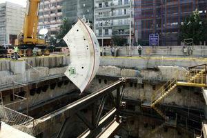 Απορρυπάνθηκε υπό κατασκευή σταθμός του Μετρό στη Θεσσαλονίκη