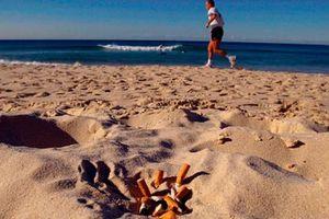 Ούτε «γόπα» στην παραλία