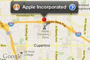 Δεν ανακοινώθηκαν πολλά από τα νέα χαρακτηριστικά των χαρτών της Apple