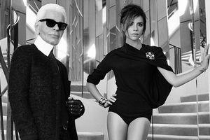 Η Victoria Βεckham ποζάρει στο σπίτι της Coco Chanel