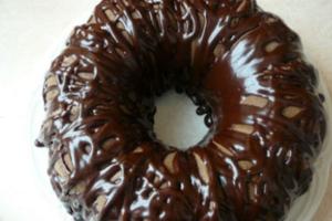 Κέικ με σοκολάτα και μπανάνα