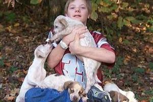Κουτάβια έσωσαν αγόρι με σύνδρομο Down