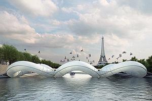 Η... φουσκωτή γέφυρα του Παρισιού