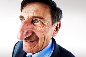 Η μακρύτερη μύτη σε άνθρωπο