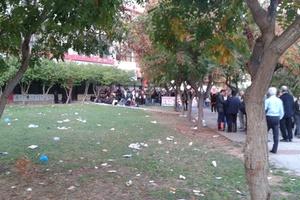 Διαμαρτυρία ΜΑΣ ενάντια στη διαγραφή των «αιώνιων» φοιτητών