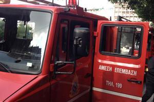 Μια νεκρή από πυρκαγιά στη Νάουσα