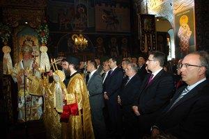 Με κατάνυξη ο εορτασμός του πολιούχου Αγίου Δημητρίου στη Σιάτιστα