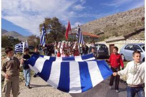 Με ιδιαίτερη λαμπρότητα γιόρτασαν φέτος οι Έλληνες της Αλβανίας την επέτειο του 1821