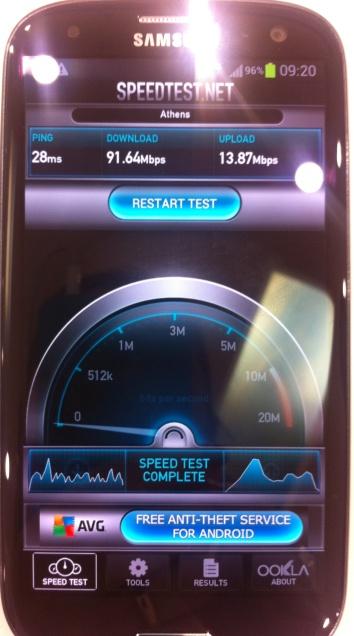 Το 4G έρχεται στην Ελλάδα Vodafone_Speedtest-2