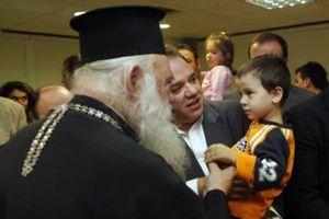 Το ιατρείο της «Αποστολής» επισκέφθηκε ο Αρχιεπίσκοπος