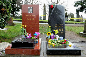 Ο τάφος του Μπρους Λι