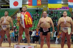 Φωτογραφικά καρέ από το 18ο παγκόσμιο πρωτάθλημα σούμο