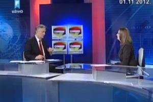 Υπουργός λιποθύμησε στη διάρκεια τηλεοπτικής εκπομπής