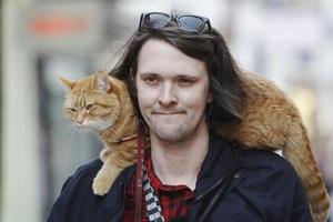 «Ο γάτος που μου έσωσε τη ζωή»