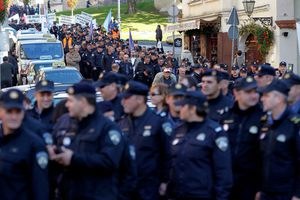 Ένστολη διαμαρτυρία στην Κροατία