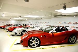 Έκθεση της Ferrari με τις δημιουργίες του Pininfarina